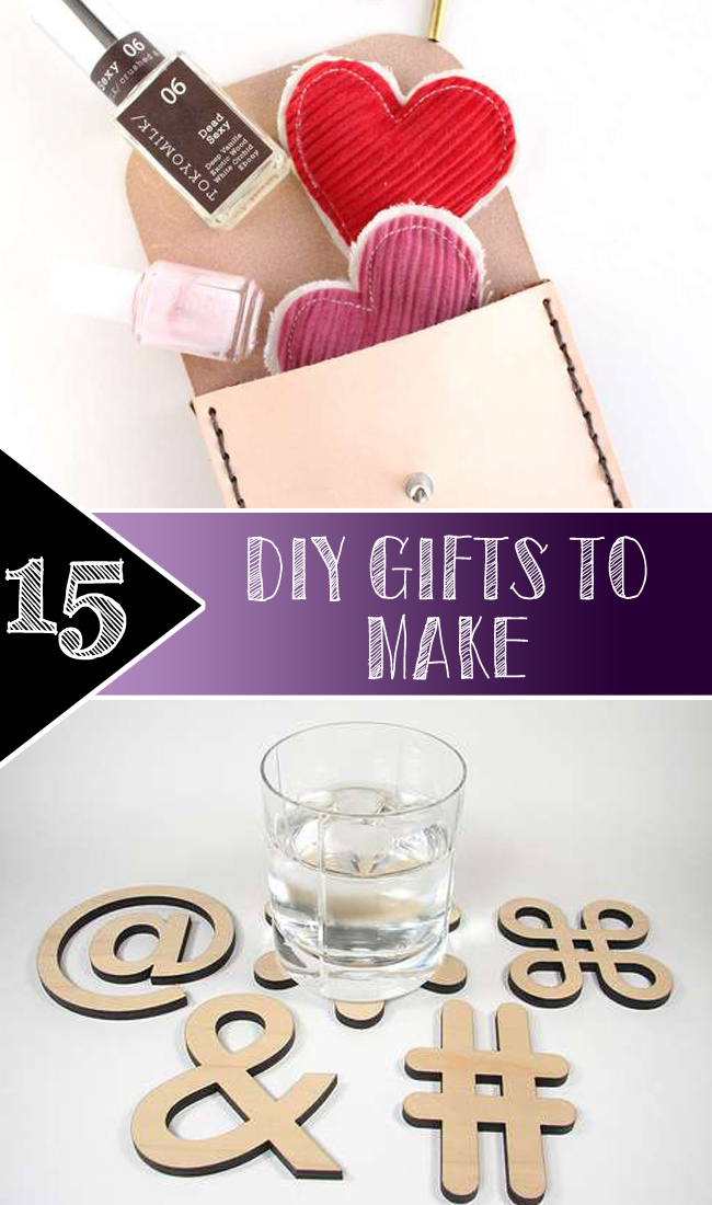 Top 15 DIY Gifts to make