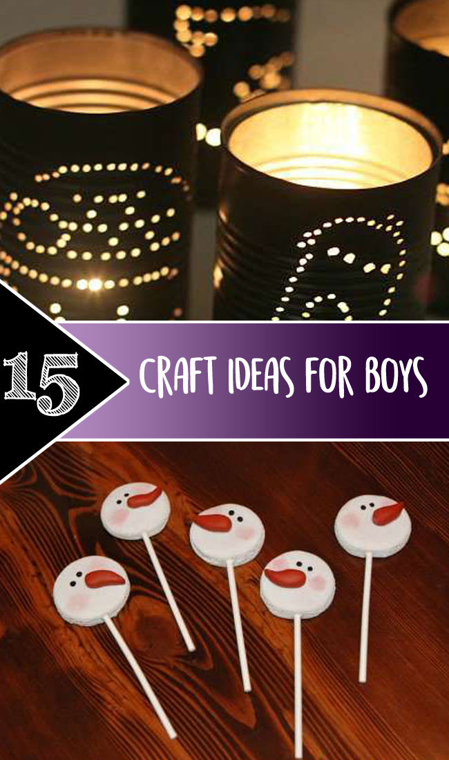 Craft ideas for Boys